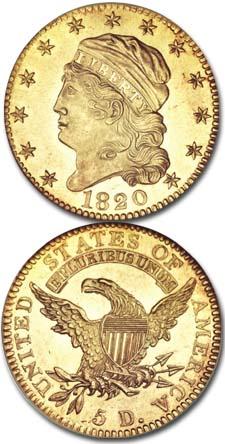 1820-Five-Dollar-Gold