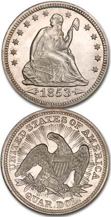 1853-Seated-Liberty-Quarter