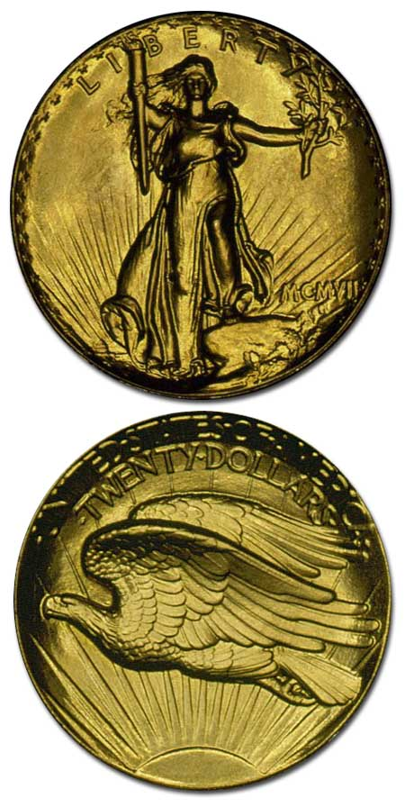 1907-ultra-high-relief-saint-gaudens-$20-gold