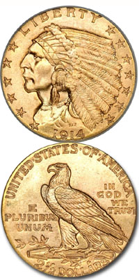 1914-gold-indian-quarter-eagle