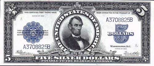 1923-$5-silver-certificate