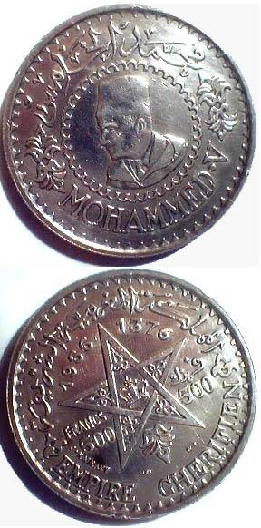 1956-morroco-5-francs
