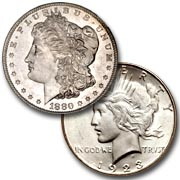 Buying Morgan and Peace Dollars