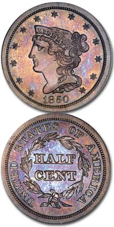 1850-Braided-Hair-Half-Cent