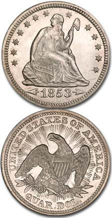 1853-Seated-Liberty-Quarter