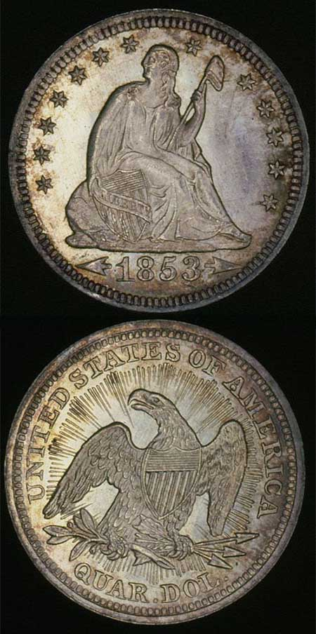 1853-seated-liberty-quarter-with-arrows-and-rays