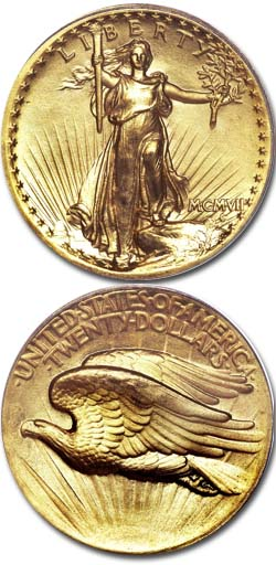 1907-high-relief-saint-gaudens-double-eagle