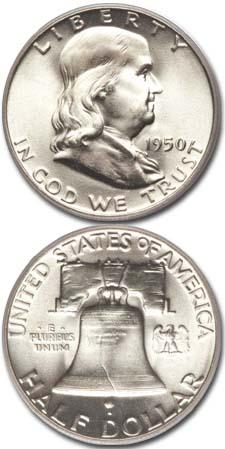 1950-Franklin-Half-Dollar