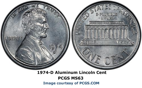 Is A 1974 Aluminum Cent Worth Anything Coinsite