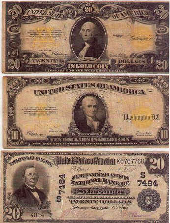 large-size-us-paper-money
